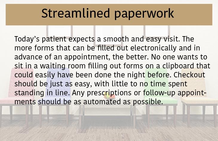 Streamlined Paperwork