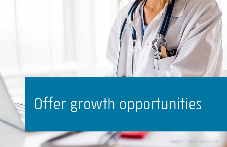 Offer growth opportunities