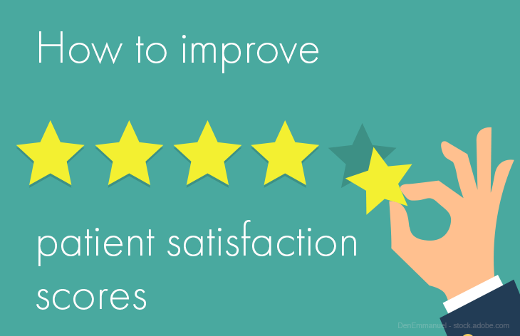 Patient satisfaction scores