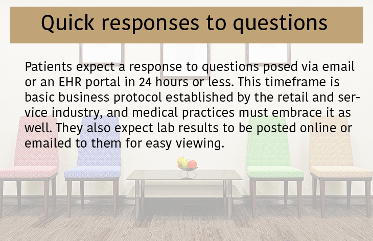 Quick responses to questions