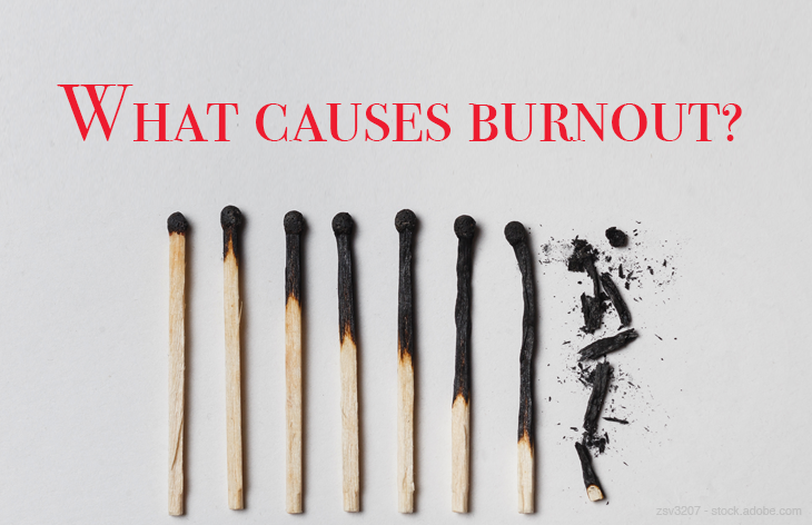 What causes burnout?