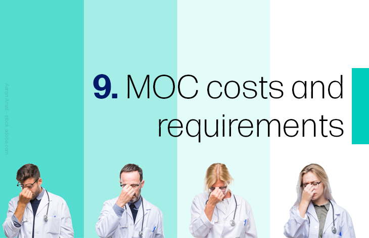 9 MOC costs and requirements