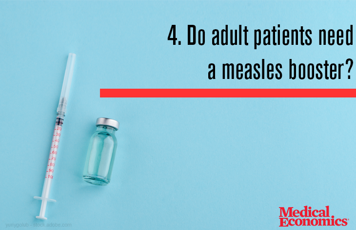 Measles booster