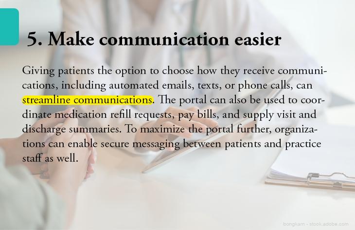 5. Make communication easier