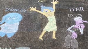 After Hours: Chalk Art Pediatrician