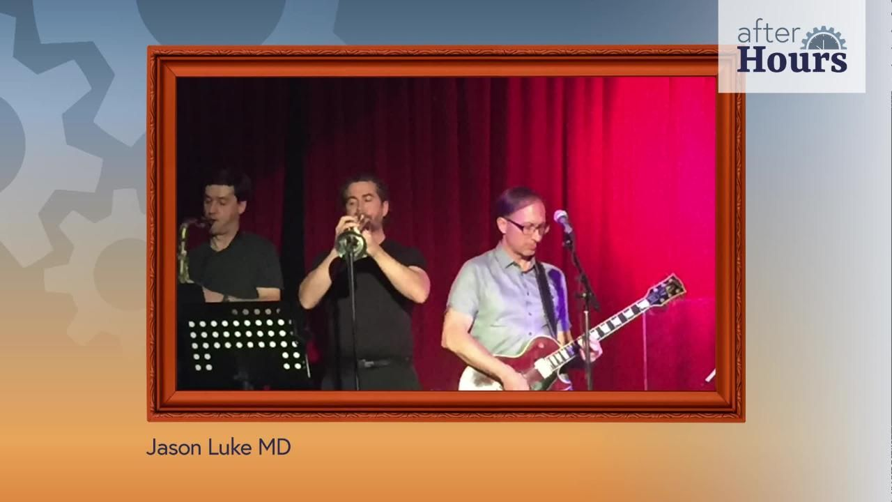 After Hours: Trumpet Playing Oncologist