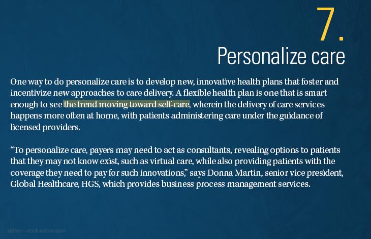Personalize care