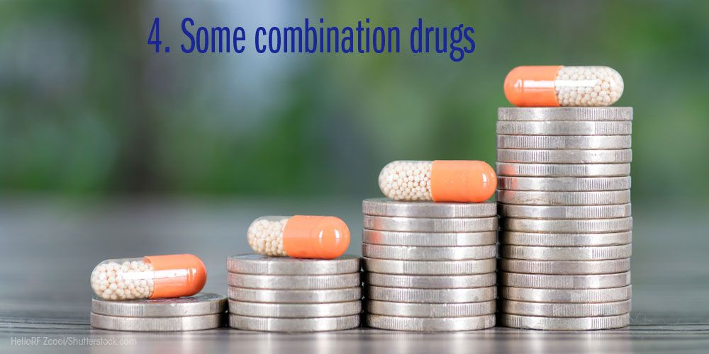 some combination drugs