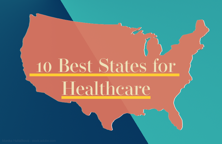 10 best states for healthcare