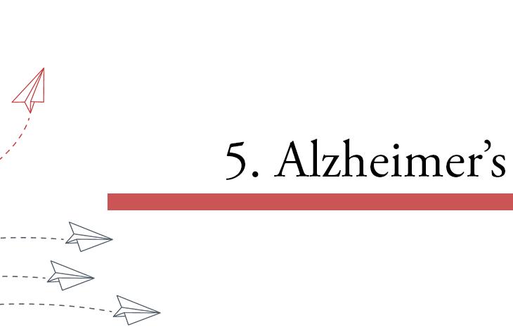 5. Disease modifying Alzheimer's treatments