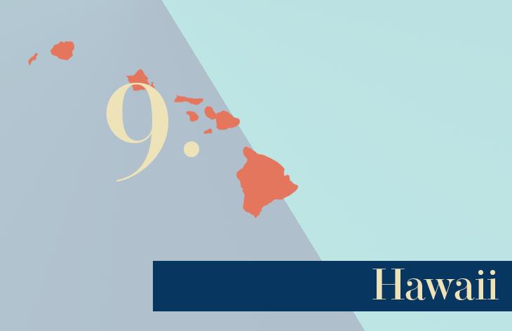 9 Hawaii