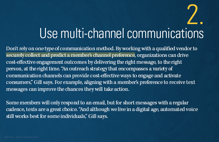 Use multi-channel communications