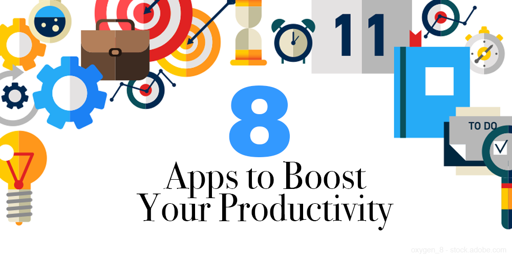 8 apps to boost your productivity