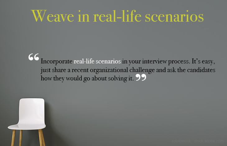 Weave in real life scenarios