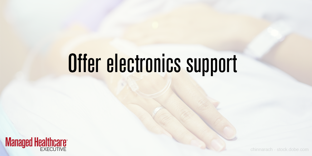 Offer support for electronics
