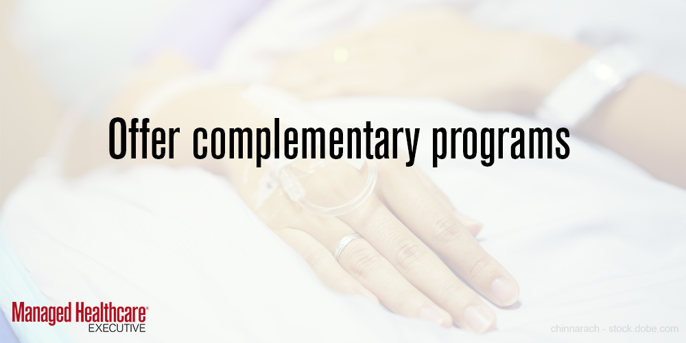 Offer complementary programs