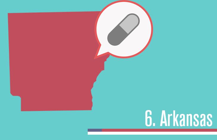 6. Arkansas