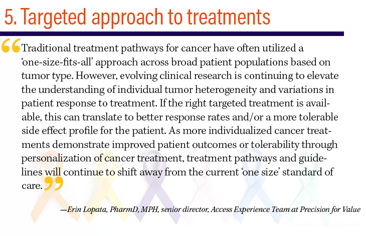 5. Targeted approach to treatments
