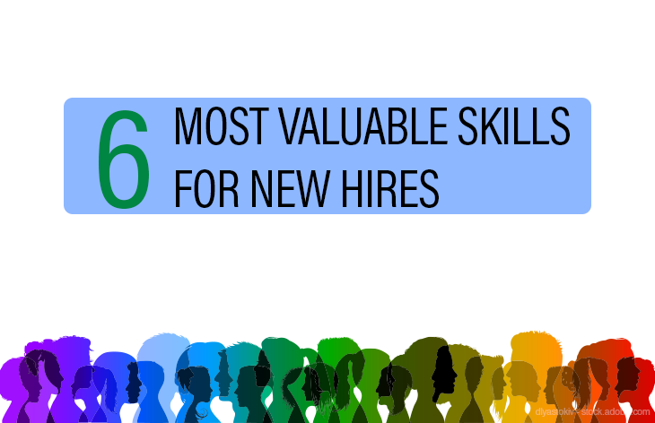 Most valuable skills for new hires