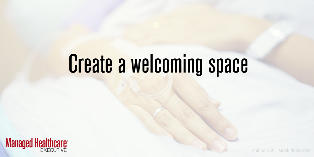 Create a welcoming space
