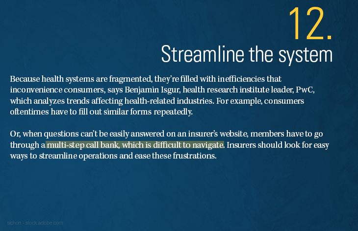 Streamline the system