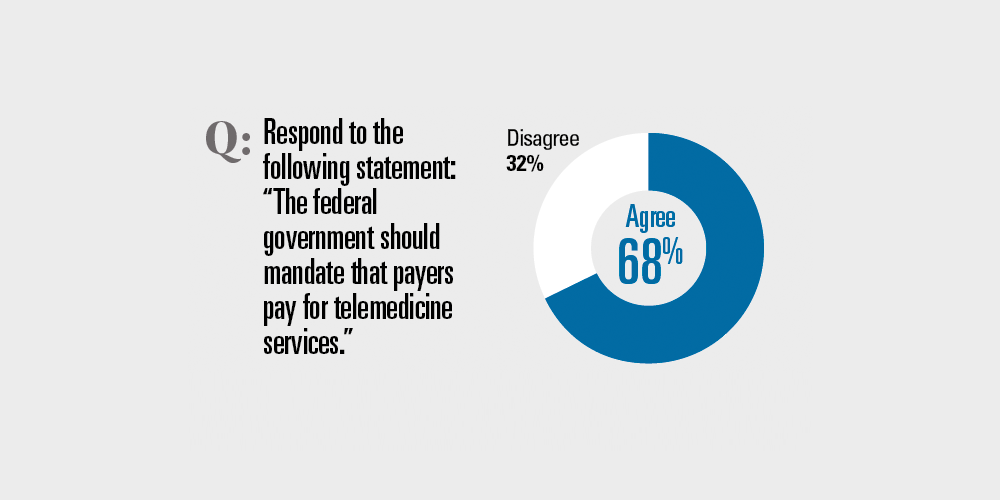 Should the government mandate payment for telemedicine?