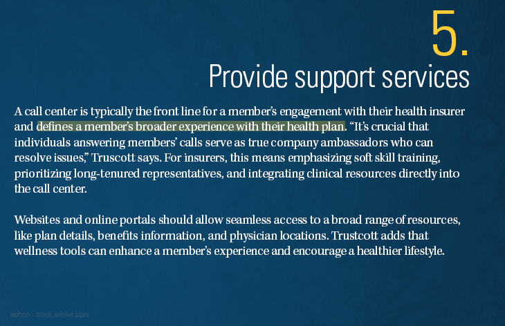 Provide support services