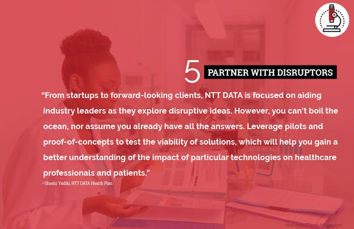 5. Partner with disruptors