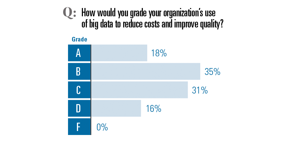 How well is your organization using big data?