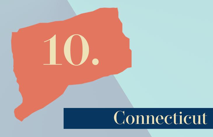 10. Connecticut