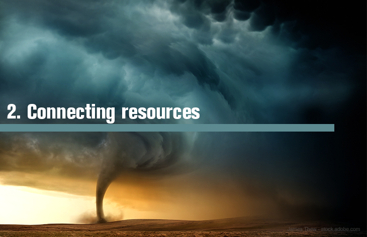 2. Connecting resources