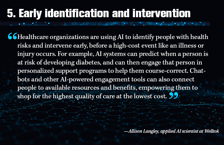 5. Early identification and intervention