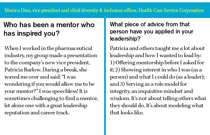 Monica Diaz, vice president and chief diversity & inclusion officer, Health Care