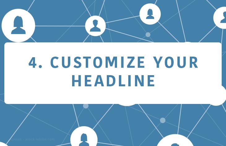 Customize your headline