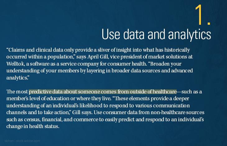 Use data and analytics