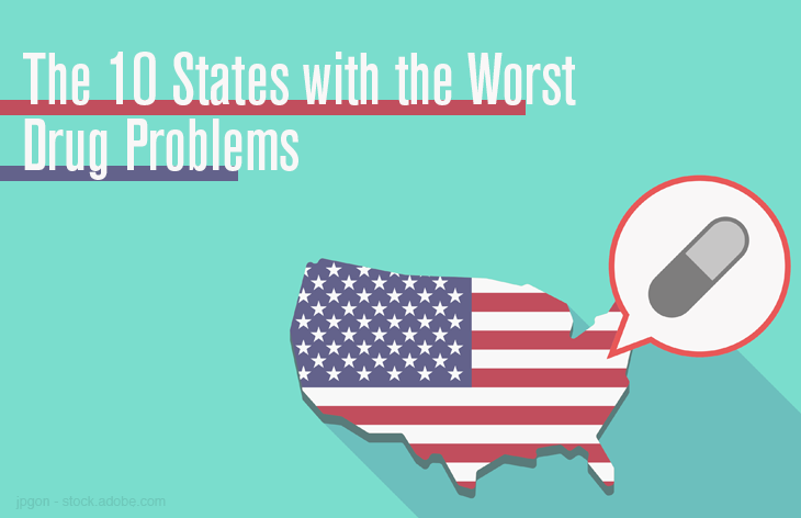 Drug problems by state