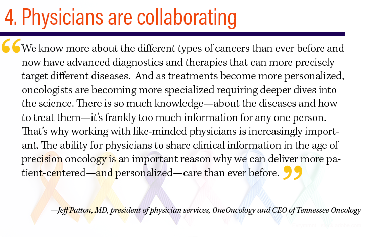 4. Physicians are collaborating