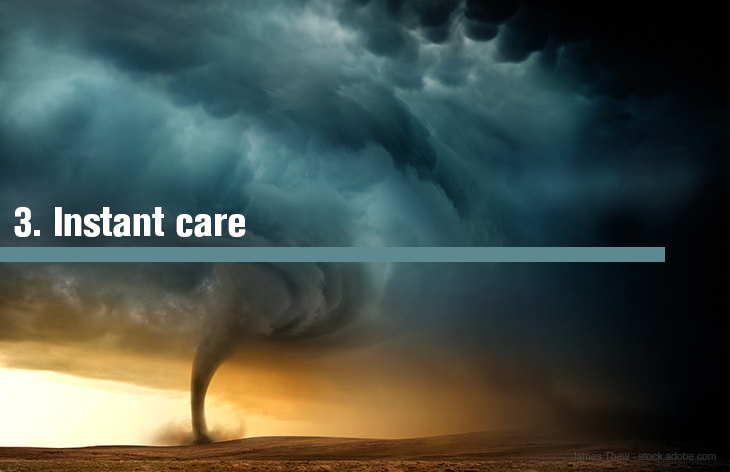 3. Instant care