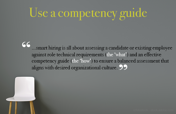 Use a competency guide