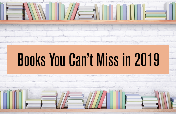 11 Books you can't miss in 2019