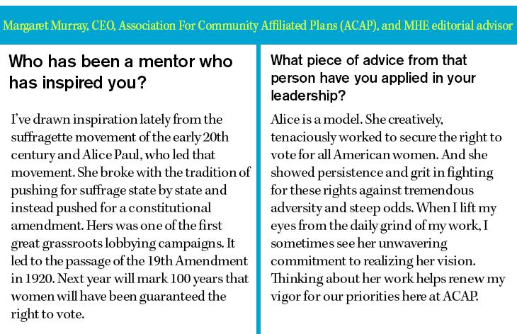 Margaret Murray, CEO, Association For Community Affiliated Plans (ACAP)