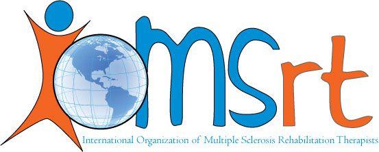 IOMSRT 'International Organization of Multiple Sclerosis Rehabilitation Therapists' logo