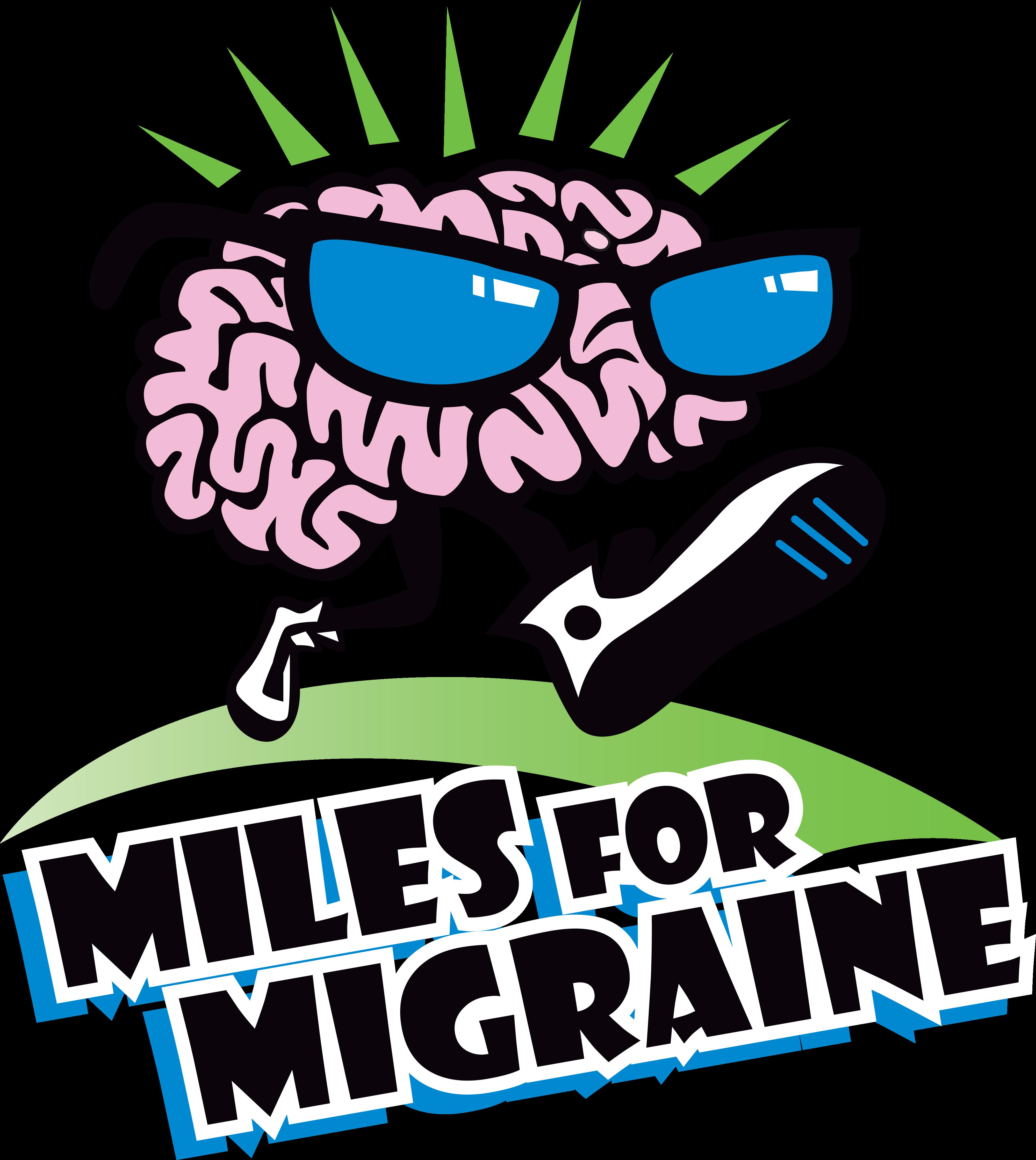 Miles for Migraine logo