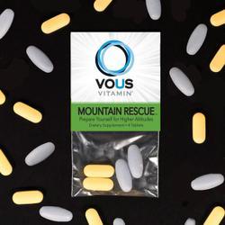 Vous Vitamin's dietary supplement addresses altitude sickness