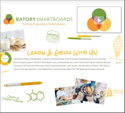 Batory Foods introduces microsite with trends, training, networking