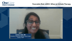 Favorable-Risk mRCC: When to Initiate Therapy