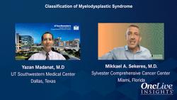 Classification of Myelodysplastic Syndrome