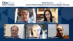 Solid Tumors: Unmet Needs Related to Biomarker-Driven Therapy