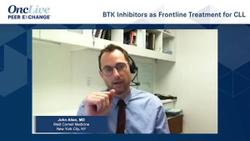 BTK Inhibitors as Frontline Treatment for CLL