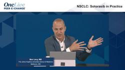NSCLC: Sotorasib in Practice